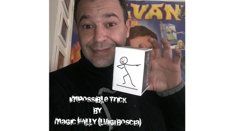 IMPOSSIBLE TRICK by Magic Willy (Luigi Boscia) video DOWNLOAD - Available at pipermagic.com.au