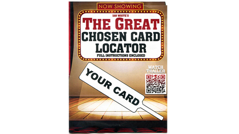 The Great Chosen Card Locator QH by MagicWorld