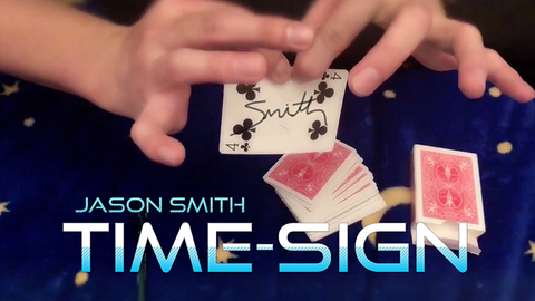 Time-Sign by Jason Smith video DOWNLOAD - Available at pipermagic.com.au