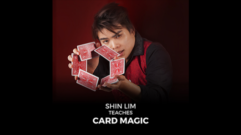Shin Lim Teaches Card Magic (Full Project) video DOWNLOAD - Available at pipermagic.com.au