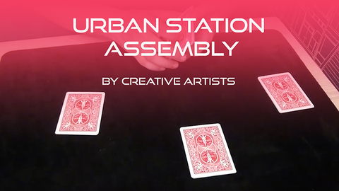 Urban Station Assembly by Creative Artists video DOWNLOAD - Available at pipermagic.com.au