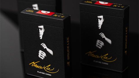 Official Bruce Lee Playing Cards - Available at pipermagic.com.au