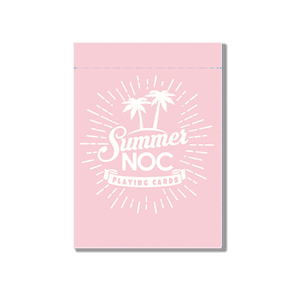 Limited Edition Summer NOC (Pink) Playing Cards