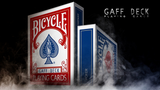 Bicycle Gaff Rider Back (Red) Playing Cards by Bocopo