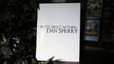 NOTES ABOUT NOTHING by Dan Sperry - Book - Available at pipermagic.com.au