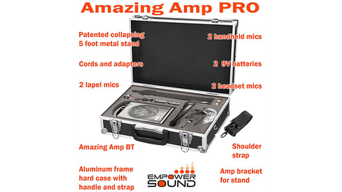 Amazing Amp Pro by Empower Sound - Trick - Available at pipermagic.com.au
