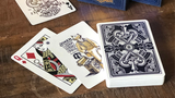 The Parlour Playing Cards (Blue) - Available at pipermagic.com.au