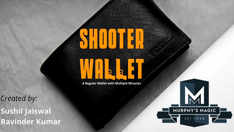 Shooter Wallet by Sushil Jaiswal and Ravinder Kumar video DOWNLOAD - Available at pipermagic.com.au