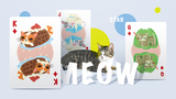Meow Star (Knitted Sweater) Playing Cards by Bocopo - Available at pipermagic.com.au