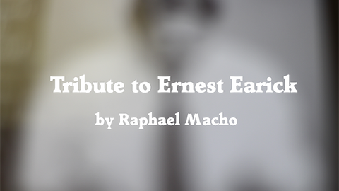 Tribute to Ernest Earick by Raphael Macho video DOWNLOAD