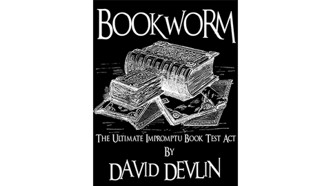 Bookworm - The Ultimate Impromptu Book Test Act by AMG Magic eBook DOWNLOAD - Available at pipermagic.com.au