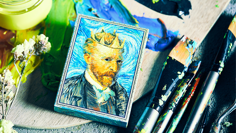 Van Gogh Playing Cards - Available at pipermagic.com.au