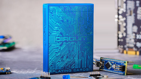 Circuit (Blue) Playing Cards by Elephant Playing Cards - Available at pipermagic.com.au