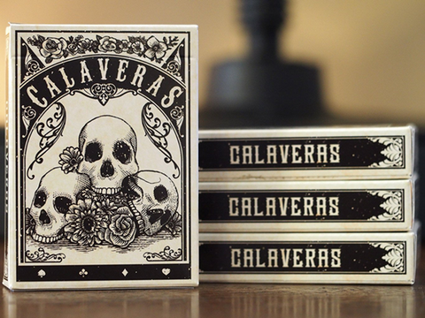 Calaveras Playing Cards by Chris Ovdiyenko - Available at pipermagic.com.au