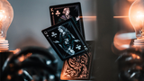 Intaglio Engraved Midnight Elixir Apothecary Playing Cards - Available at pipermagic.com.au
