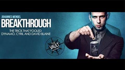 The Vault - Breakthrough by Johannes Mengel video DOWNLOAD - Available at pipermagic.com.au