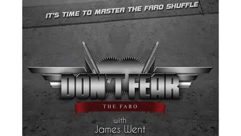 Don't Fear the Faro with James Went video DOWNLOAD - Available at pipermagic.com.au