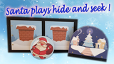 SANTA PLAYS HIDE AND SEEK (PROFESSIONAL MODEL) by Magie Climax - Trick