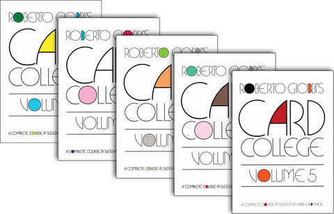 Card College Volumes 1, 2, 3, 4 & 5 - Available at pipermagic.com.au