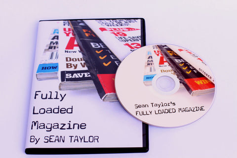 Fully Loaded Magazine - Sean Taylor - Available at pipermagic.com.au