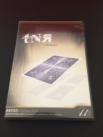 TnR by Mathieu Bich (DVD) - Available at pipermagic.com.au