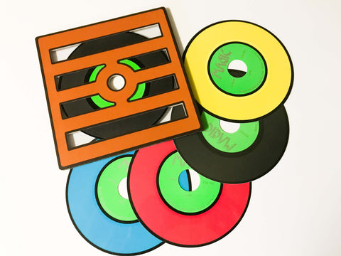 Nu-Way Color Changing Records by Ton Onosaka - Available at pipermagic.com.au