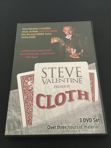 CLOTH by Steve Valentine - Available at pipermagic.com.au
