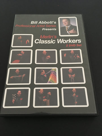 Merlin's Classic Workers (2 DVD Set) by Bill Abbott - Available at pipermagic.com.au