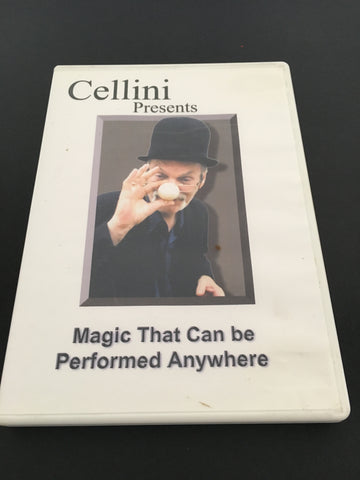 Cellini - Magic That Can Be Performed Anywhere - Available at pipermagic.com.au
