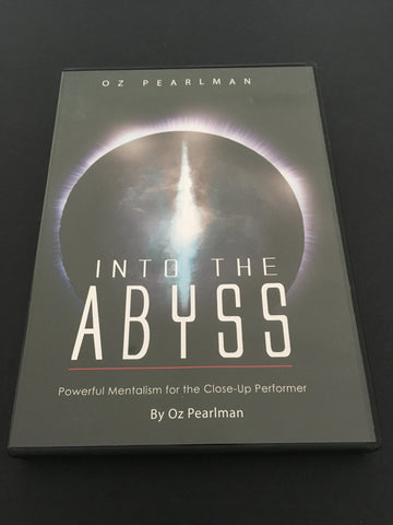 Oz Pearlman - Into the Abyss - Available at pipermagic.com.au