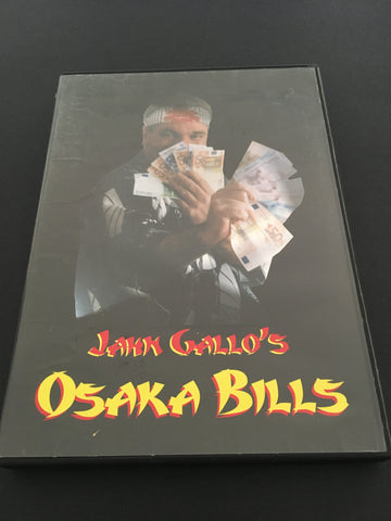 Jahn Gallo - Osaka Bills - Available at pipermagic.com.au