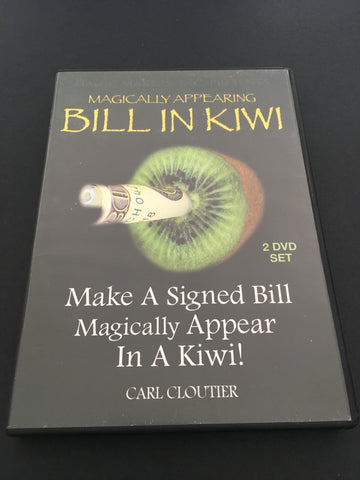 Carl Cloutier - Bill in Kiwi (2 DVD Set) - Available at pipermagic.com.au