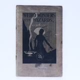 Weird Wonders for Wizards - Sidney E Josolyne - Available at pipermagic.com.au