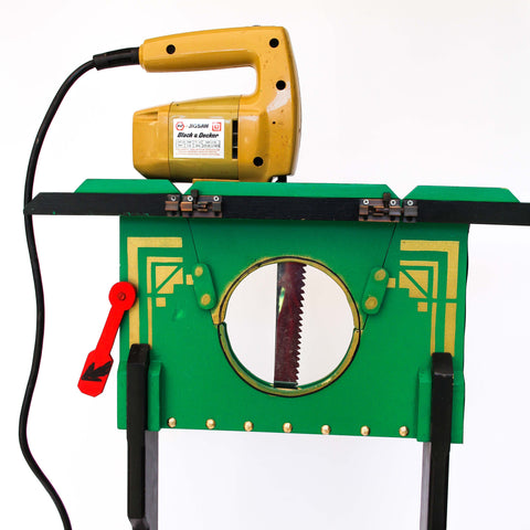 Electric Sawing Through Neck Illusion - Australian Made - Available at Piper Magic Australia