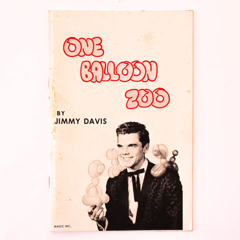 One Balloon Zoo - Jimmy Davis - Available at pipermagic.com.au