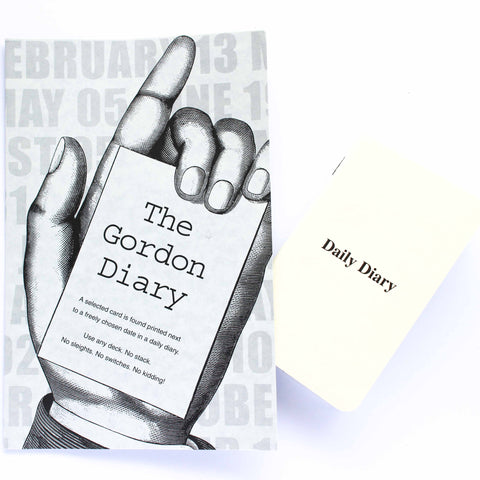 The Gordon Diary - Paul Gordon - Available at Piper Magic Australia