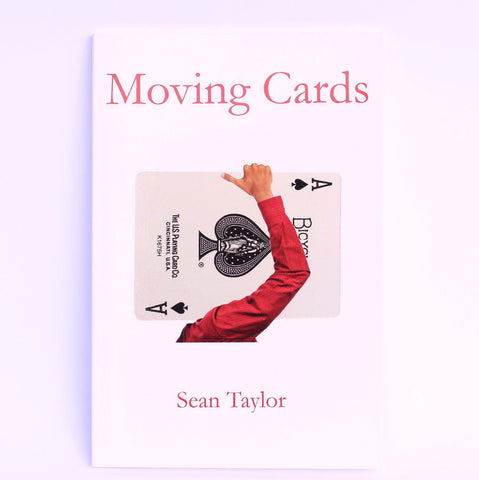 Moving Cards by Sean Taylor - Available at pipermagic.com.au