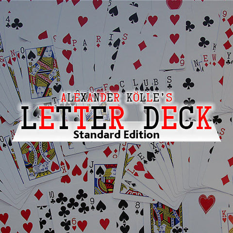 Letter Deck by Card Shark