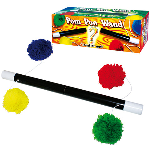 Pom Pom Wand by DiFatta Magic - Available at pipermagic.com.au