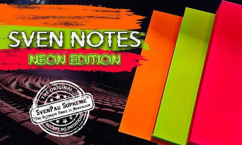 SvenPad® NEON Sven Notes (3 Post-its Style Pads)