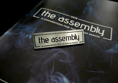 The Assembly 2019 Commemorative Pin - Available at pipermagic.com.au