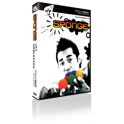 Sponge by Jay Noblezada - Available at pipermagic.com.au