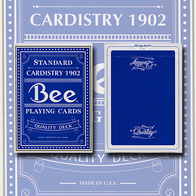 Bee Quality Cardistry 1902 Blue (1st Edition)