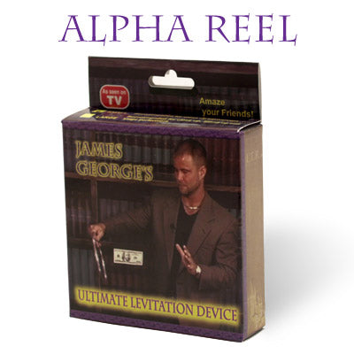 Alpha Reel (Small) by James George - Trick - Available at pipermagic.com.au