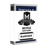 Blank Back Bicycle Cards (box color varies) - Available at pipermagic.com.au