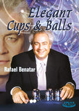 Elegant Cups & Balls DVD - Rafael Benatar - Available at pipermagic.com.au