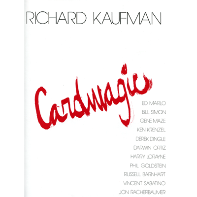 Card Magic by Richard Kaufman - Available at pipermagic.com.au