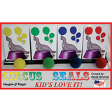 Circus Seals by Imagin-If Magic - Available at pipermagic.com.au