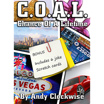 C.O.A.L. by Andy Clockwise - Available at pipermagic.com.au