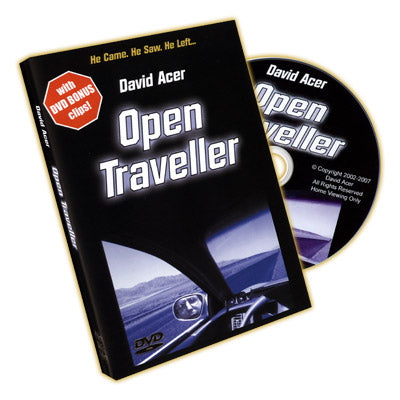 Open Traveller by David Acer - DVD - Available at pipermagic.com.au